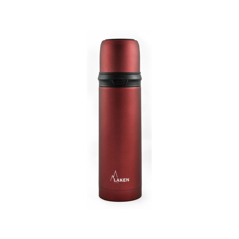 Thermos Inox Laken 0.75L rouge