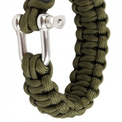Bracelet paracorde Highlander Paracord à boucle métal