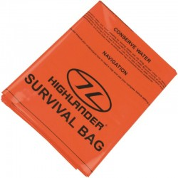 Sac de survie Highlander Survival Bivi Bag orange