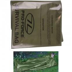 Highlander Survival Bivi Bag vert