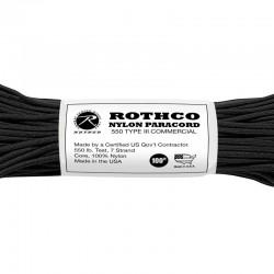 Rothco Nylon Paracord 550 noire