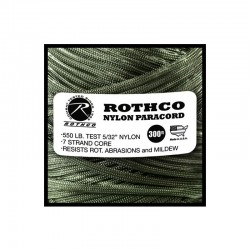 Rothco Nylon Paracord vert armée