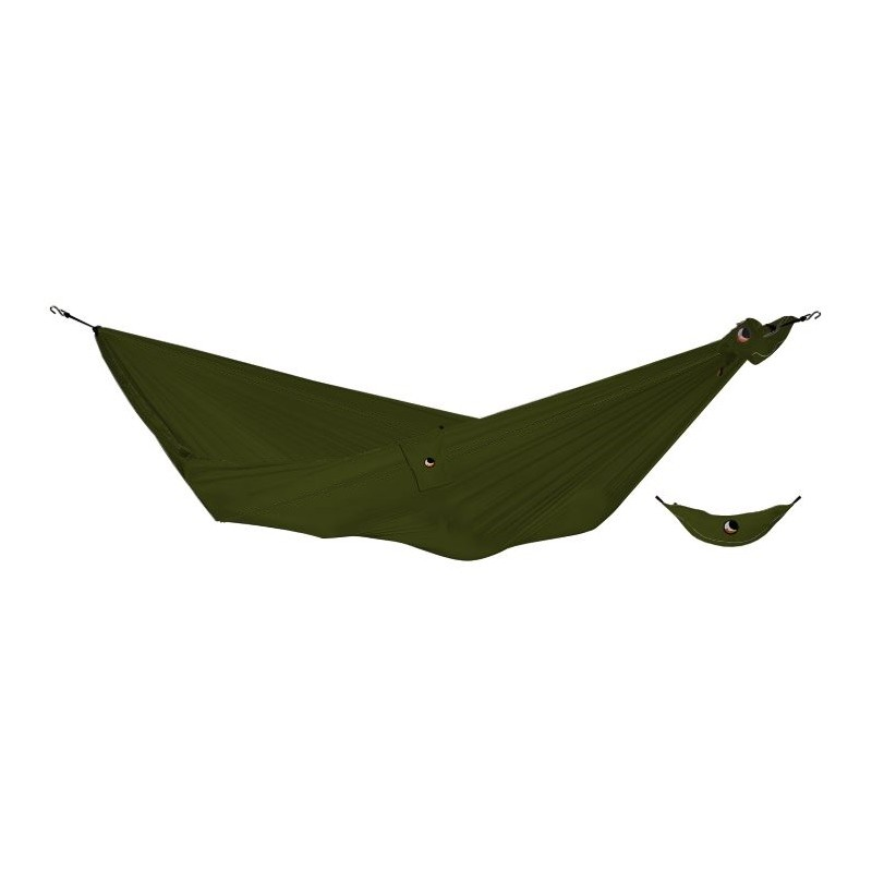 hamac simple militaire ticket to the moon compact vert arm e. Black Bedroom Furniture Sets. Home Design Ideas