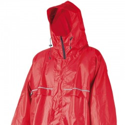Camp Cagoule Front Zip rouge