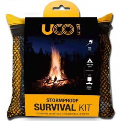 Pack de survie UCO Stormproof Survival Kit