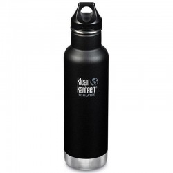 Gourde isotherme 0,6L Klean Kanteen Insulated Classic noire