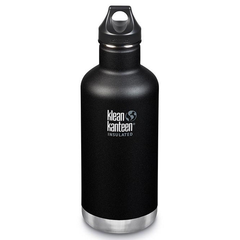 Gourde isotherme Klean Kanteen Insulated Classic noire 0,95 litre