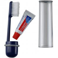 Brosse à dents CAO avec tube de dentifrice