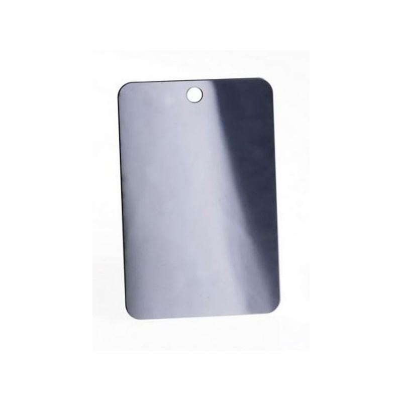 Miroir acier cao compact et incassable mat riel aventure for Miroir acier
