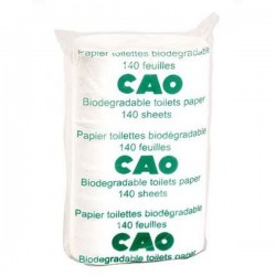 Papier toilette biodégradable CAO