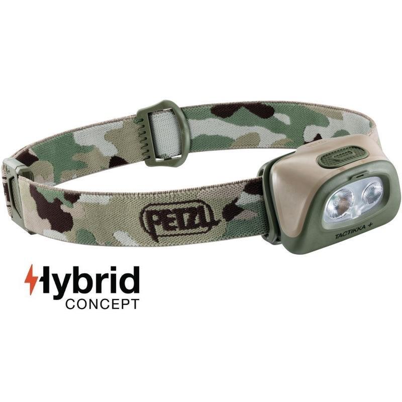 Hybrid camouflage Lampe frontale Petzl Tactikka
