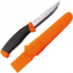 Couteau de survie Mora Companion orange