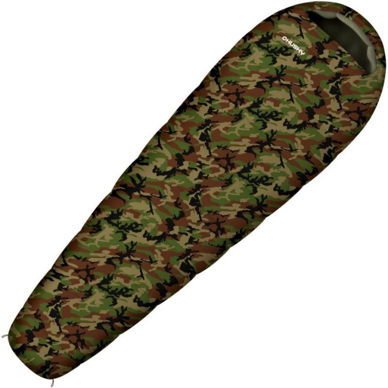 Sac de couchage enfant Husky Junior Army camouflage