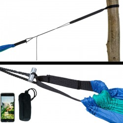 Kit de fixation pour hamac Amazonas Adventure Rope