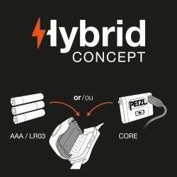 Technologie Petzl Hybrid