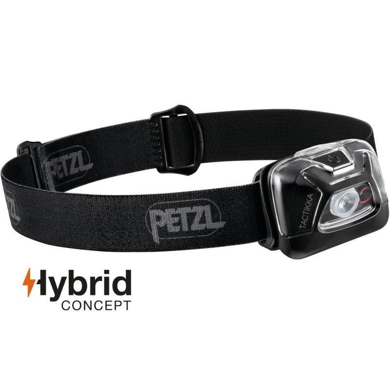 Lampe frontale Petzl Tactikka Hybrid noire