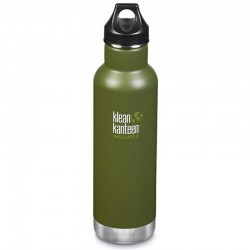 Gourde isotherme Klean Kanteen Insulated Classic vert kaki