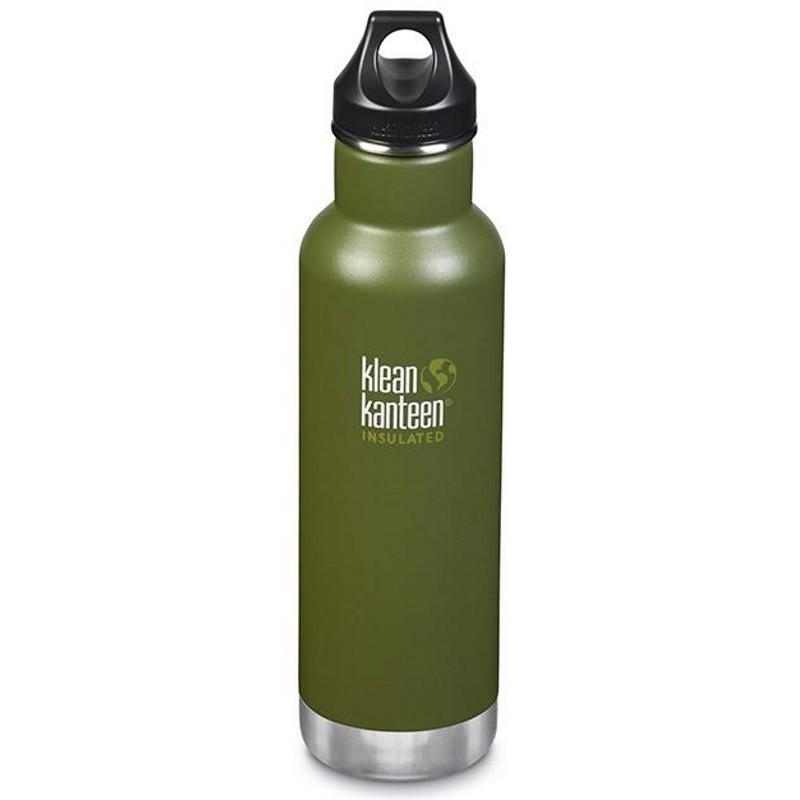 Gourde isotherme Klean Kanteen Insulated Classic vert kaki