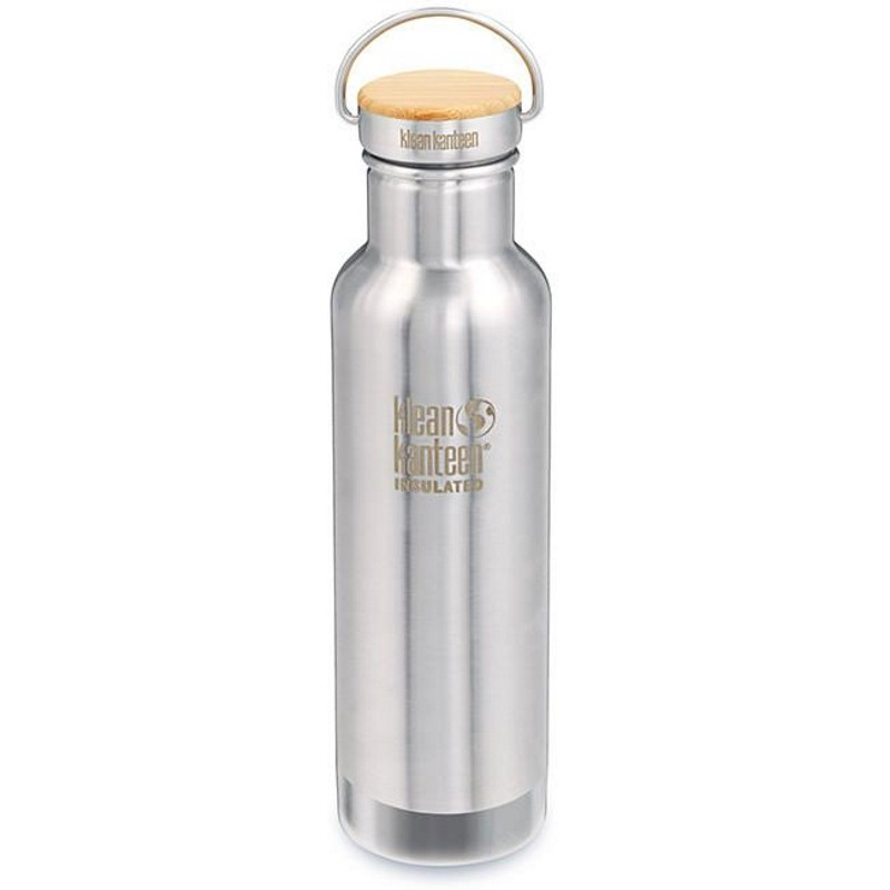 Gourde isotherme Klean Kanteen Insulated Reflect inox brossé 0,6L