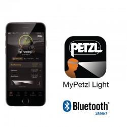 Lampe frontale Petzl Reactik avec connexion Bluetooth