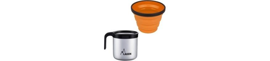 Tasse inox et tasse alu pour le camping ou la randonnée