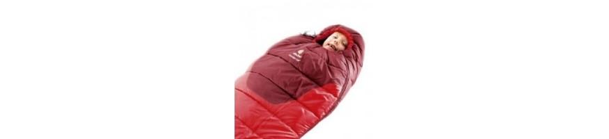 Sac de couchage enfant ou junior et sac de couchage bébé