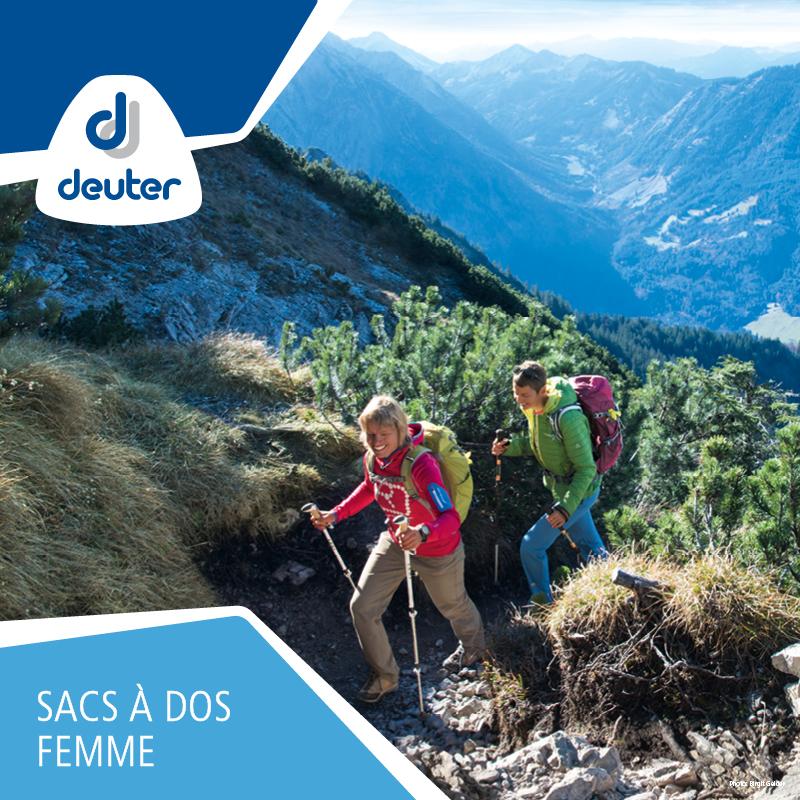 Tous les sacs à dos de trekking pour femme de la marque Deuter