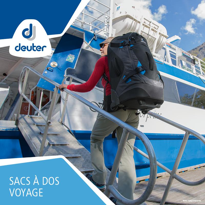 Tous les sacs à dos et sacs de voyage de la marque Deuter