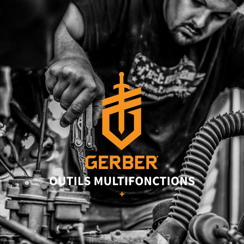 Tous les outils et pinces multifonctions de la marque Gerber