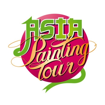 L'Asia Painting Tour continue