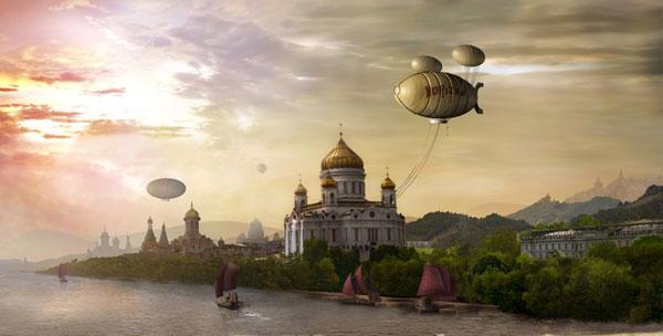 Création Asia Painting Tour en Russie