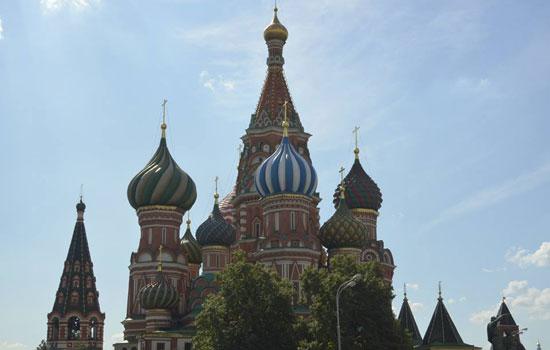 Les monuments de Moscou semblent innombrables