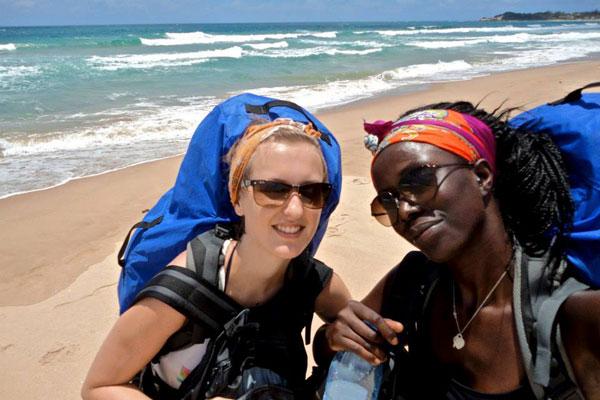 Nos aventurières du Café con Leche World Tour découvrent la baie de Tofo