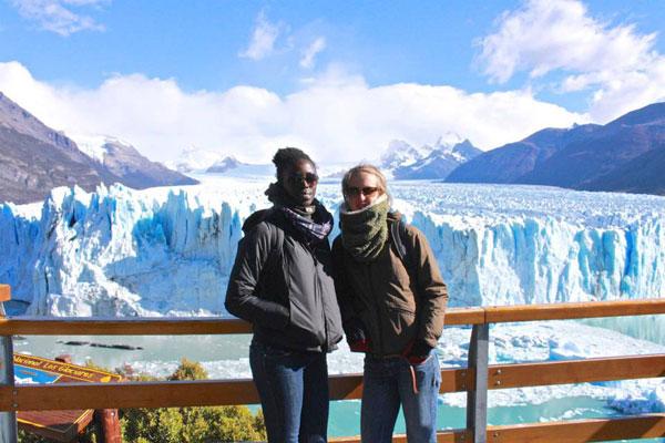 L'imposant glacier de Perito Merino est l'une des dernières étapes de l'aventure Café con Leche World Tour côté Amérique du Sud