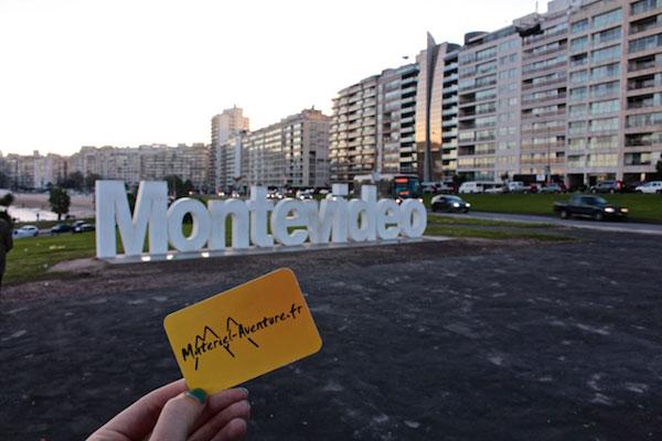 Située au coeur de l'Uruguay, la ville de Montevideo accueille brièvement nos aventurières