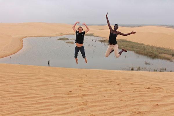 Nouveau territoire couvert par l'aventure Café con Leche World Tour, les dunes de Lomas de Arena resteront un très bon souvenir pour nos aventurières