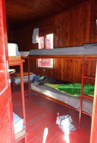 Notre aventurière est hébergée au sein de la maison du Parc national de Paklenica