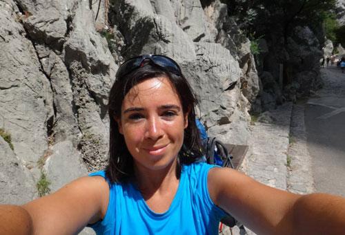 Rosanne Chauvet est arrivée sur le sol Croate