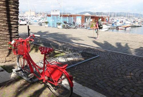 Nos aventurières Roro et Natt rejoignent le littoral de l'Italie