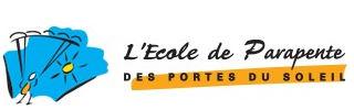 Logo de l'école de parapente des Portes du Soleil