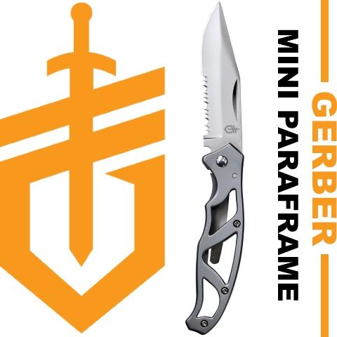 1 couteau Gerber Paraframe OFFERT pour 2 outils ou couteaux Gerber achetés !