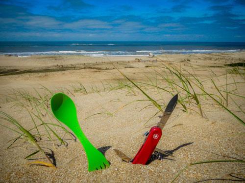 Léa et lili débarquent sur des plages uruguayennes balayées par le vent