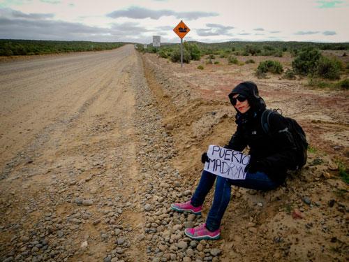 Nos aventurières arrivent en Patagonie et l'autostop s'annonce difficile
