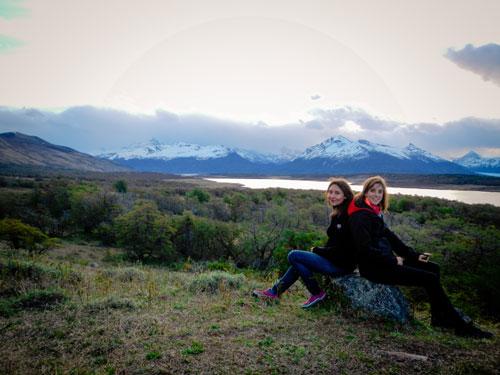 Léa et Lili continuent leur périple en Patagonie et font escale vers El Calafate