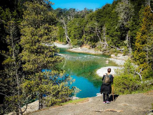 Nos aventurières progressent désormais dans la région de Cajon del Azul