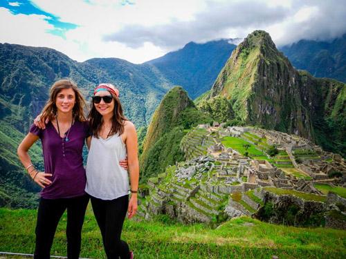 Machu Picchu représentait une étape-clé pour nos deux aventurières. La cité inca a tenu toutes ses promesses.