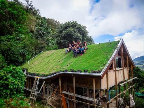 Près de la frontière entre Panama et Costa Rica, nos aventurières trouvent refuge dans une ferme écologique