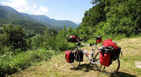 Le vélo d'Olivier Godin est prêt à repartir