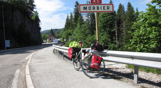 Olivier Godin arrive à Morbier