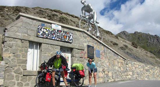 Le col du Tourmalet est le énième col franchi par Olivier Godin